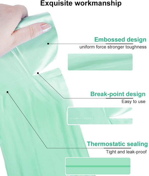 RZ Trash Bags Roll Green (scented) 40 * 55 cm - 20 per pack