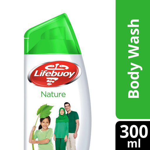 Lifebuoy Body Wash Nature Pure Shower Gel 300ml