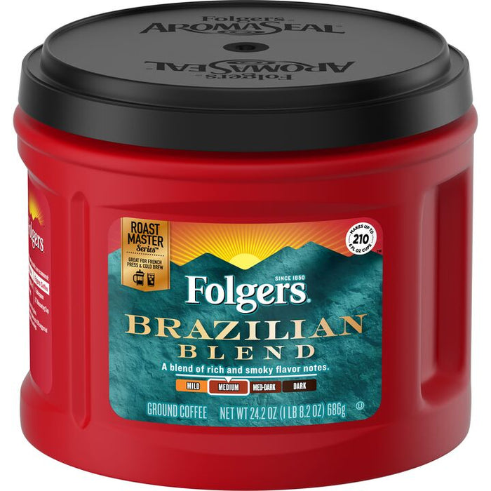 Folgers Brazilian Blend Coffee 636 G