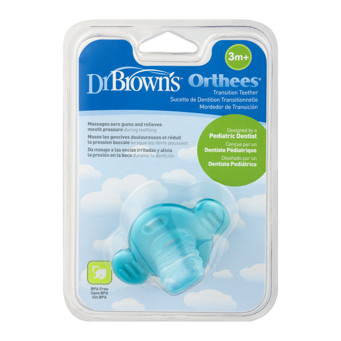 Dr. Browns Teether ''Orthees'' 3m+ (Blue)