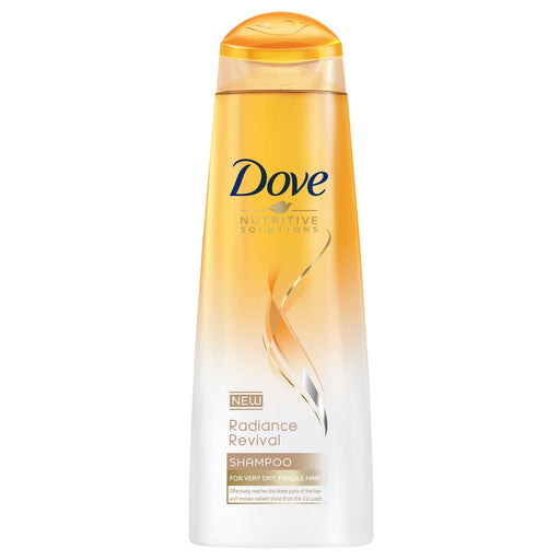 Dove Radiance Revival Shampoo Dry Hair 400ml (Made in Britain).