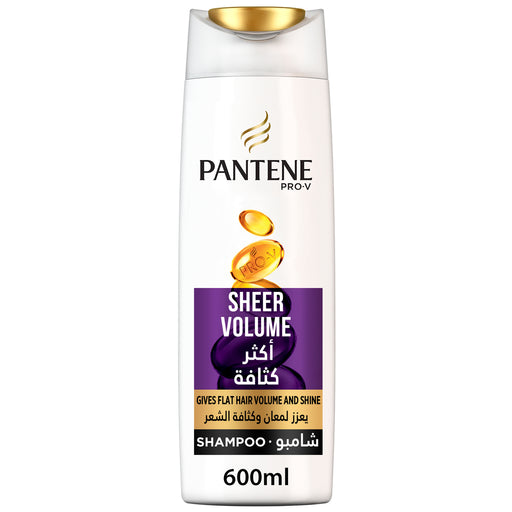 Pantene Pro-V Sheer Volume Shampoo 600ml