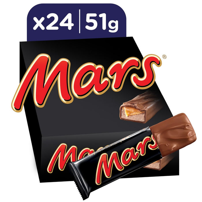 MARS Chocolate Bar 51g x 24 Pieces