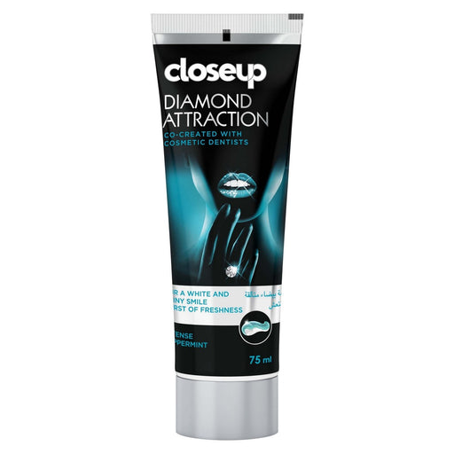 CLOSE UP DIAMOND ATTRACTION Toothpaste With Blue Light Technology 75ml.