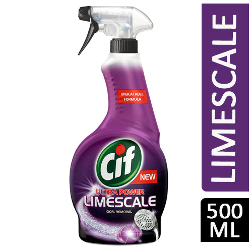 Cif Perfect Finish Limescale Remover Spray Cleaner 500ml