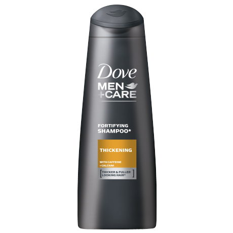 Dove MEN+CARE THICKENING FORTIFYING SHAMPOO 250 ml (Made in Britain)