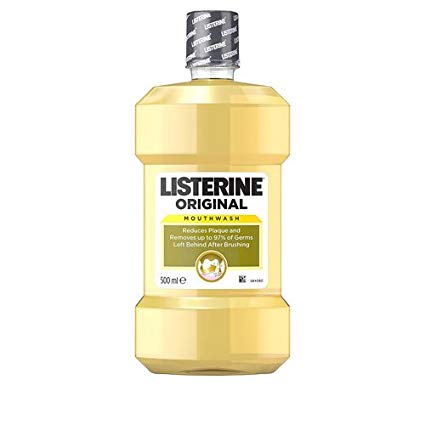 Listerine Original Mouthwash 500ml (Made in Britain) - Talabac