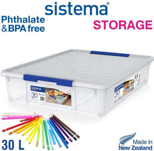 Sistema Storage Box 30 L with Organiser Trays