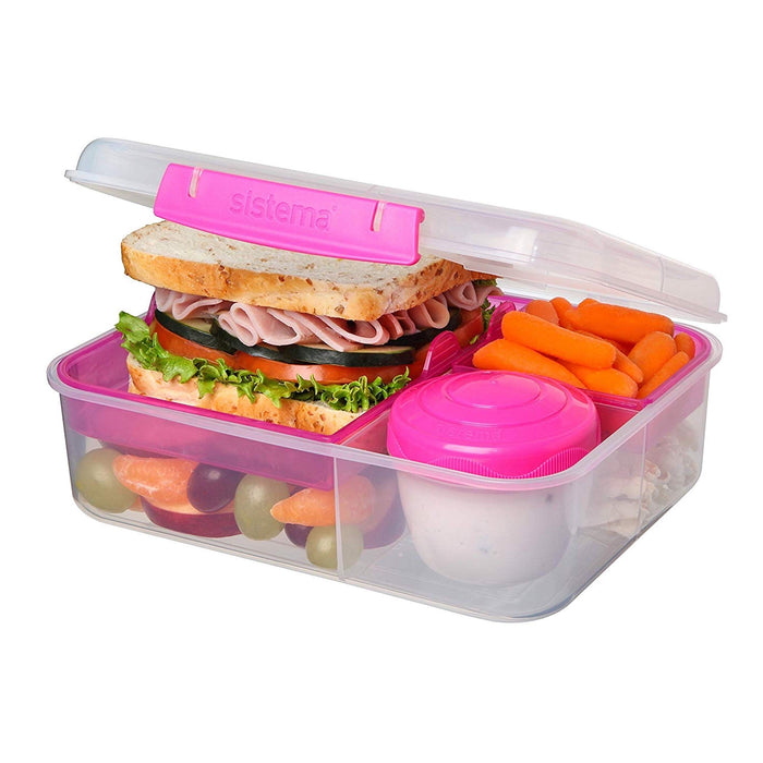Sistema Bento Lunch 1.65L Pink