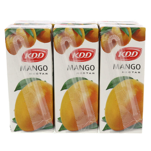 KDD Mango Juice 180ml x 6pcs - Talabac