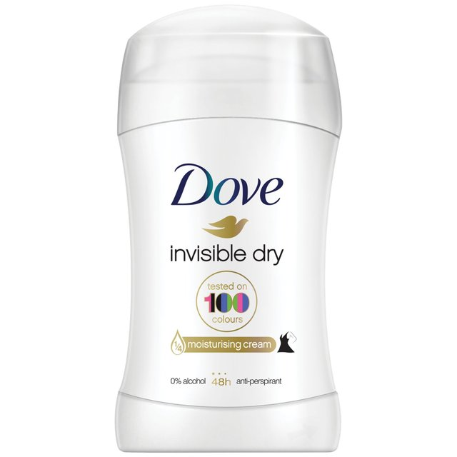 Dove Invisible Dry Roll-On Anti-Perspirant Deodorant 40ml (Made in Britain) - Talabac