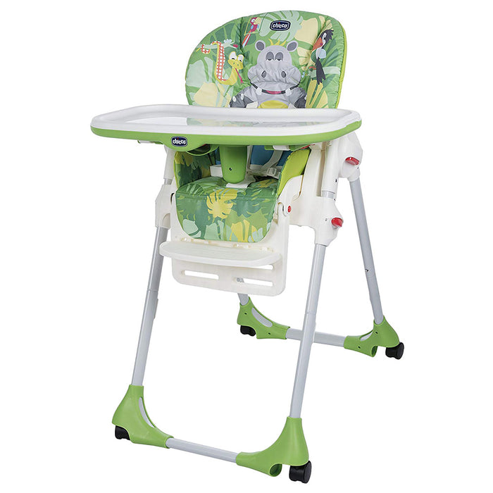 Chicco - Polly Easy Highchair - Happy Jungle