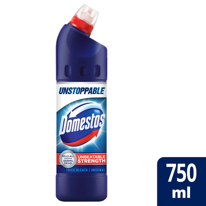 Domestos Bleach Original 750ml (Made in Britain).