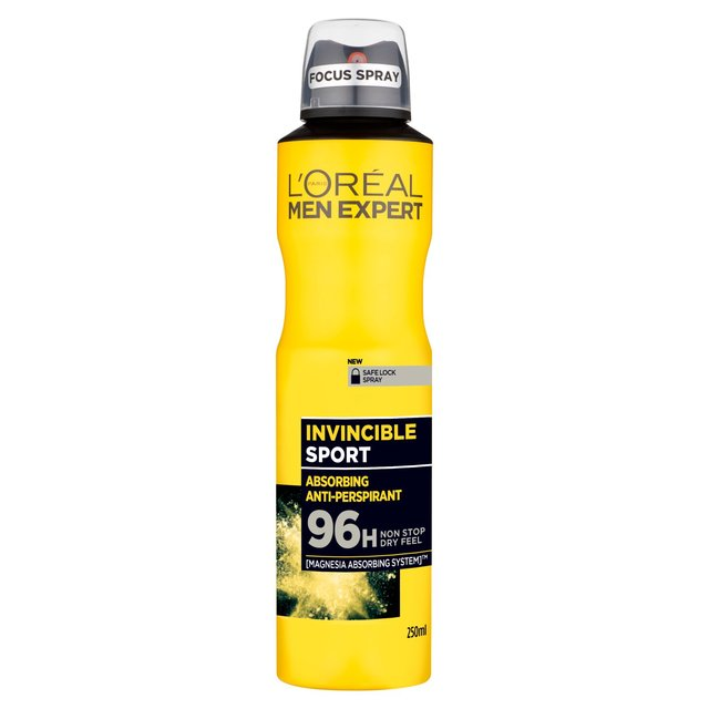 Loreal Deodorant 250ml x 3 pieces  (Made in France).