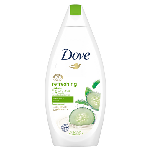 Dove Go Fresh with Cucumber & Green Tea Scent Body Wash 500 ML