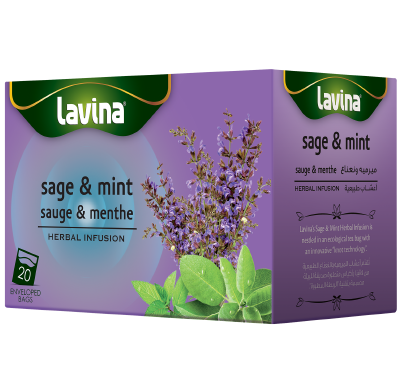 Lavina Sage & Mint - Herbal Infusion 20's
