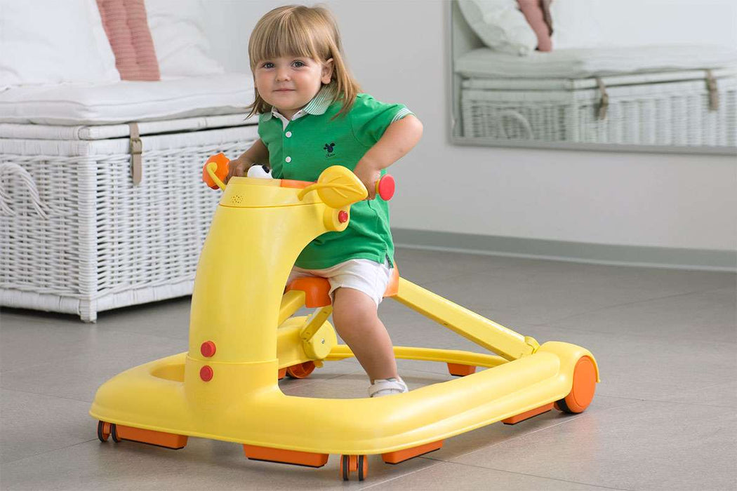 Chicco 123 Baby Walker (Orange)