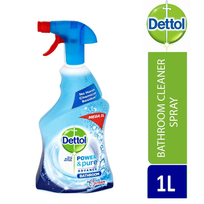 Dettol Power & Pure Bathroom Cleaning Spray 1L