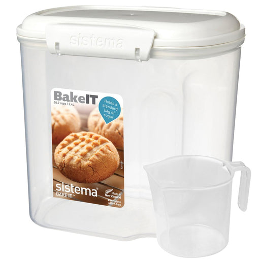 Sistema Bakery Dry Ingredients Storage with Measuring Cup 2.4L - Talabac