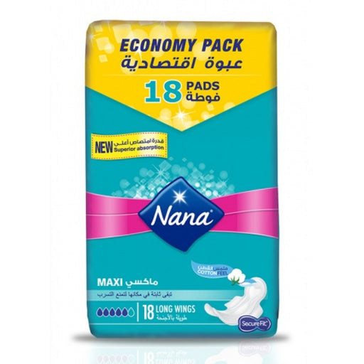 Nana Maxi Economy Pack 18 Long
