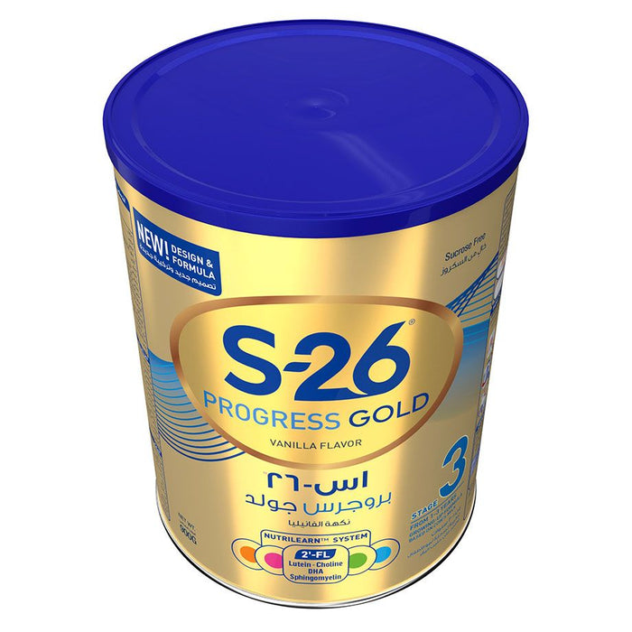 Nestle S26 PROGRESS GOLD Stage 3 Milk Powder 900g - Talabac
