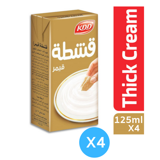 Kdd Thick Cream 125ml X 4 - Talabac