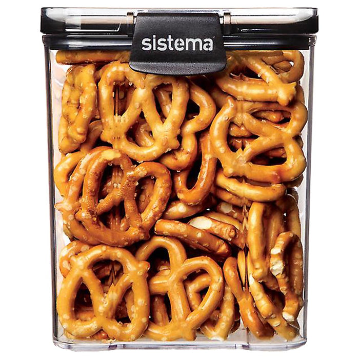 Sistema - Ultra Square Tritan 920ml - Clear