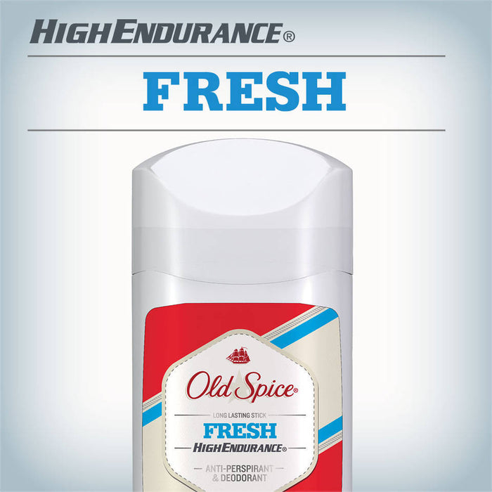 Old Spice High Endurance Fresh Scent Invisible Solid Antiperspirant and Deodorant 85 G
