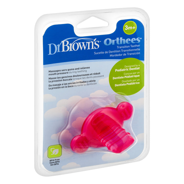 Dr. Browns Teether ''Orthees'' 3m+ (Pink)