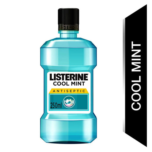 Listerine Coolmint Mouthwash 250ml (Made in Italy)