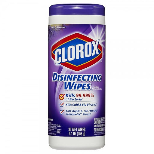 Clorox Disinfecting Wipes, Bleach Free Cleaning Wipes - Lavender, 35 ct