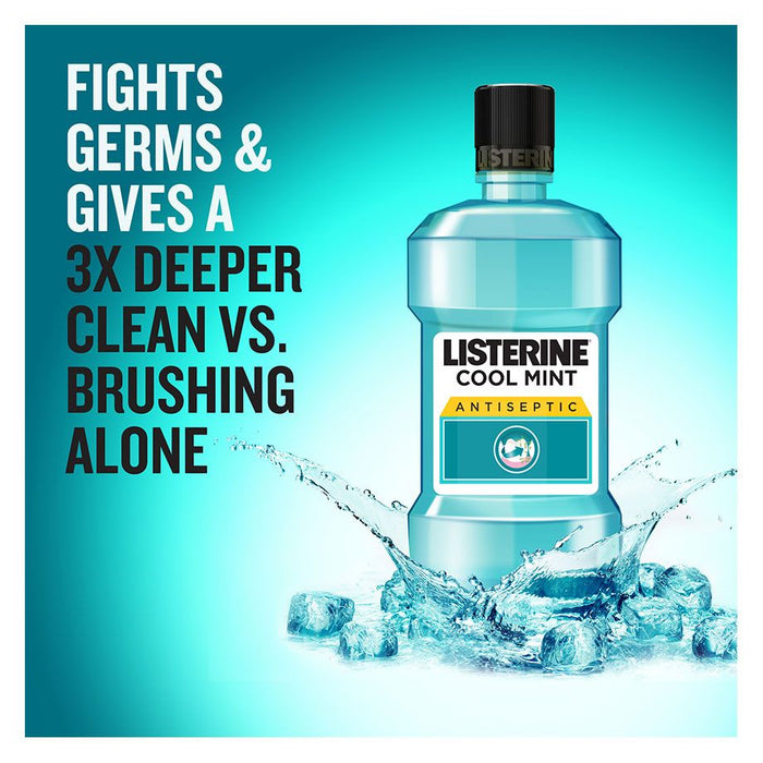 Listerine Freshburst Mouthwash 500ml (Made in Italy)