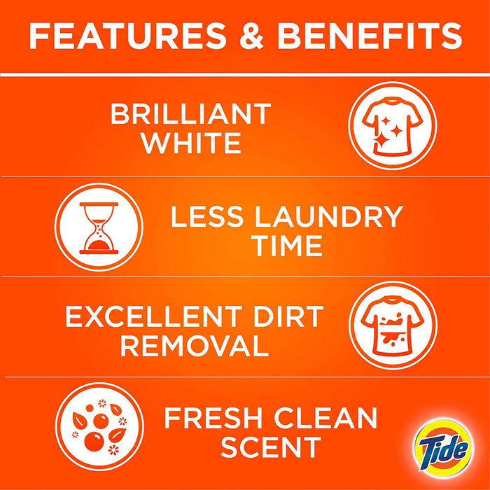 Tide Automatic Laundry Powder Detergent Original Scent 5kg