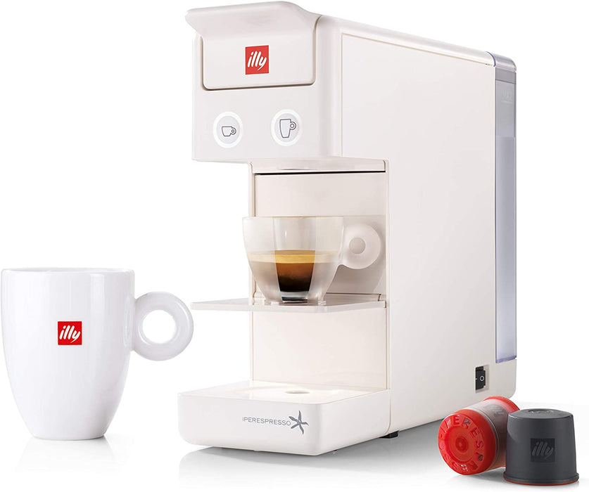 illy Y3.2 iperEspresso Espresso and Coffee Machine - White