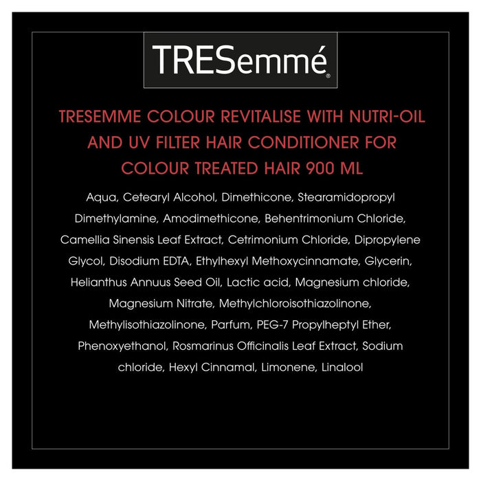 TRESemme Colour Revitalise Colour Fade Protection Conditioner 900ml (Made in Britain).