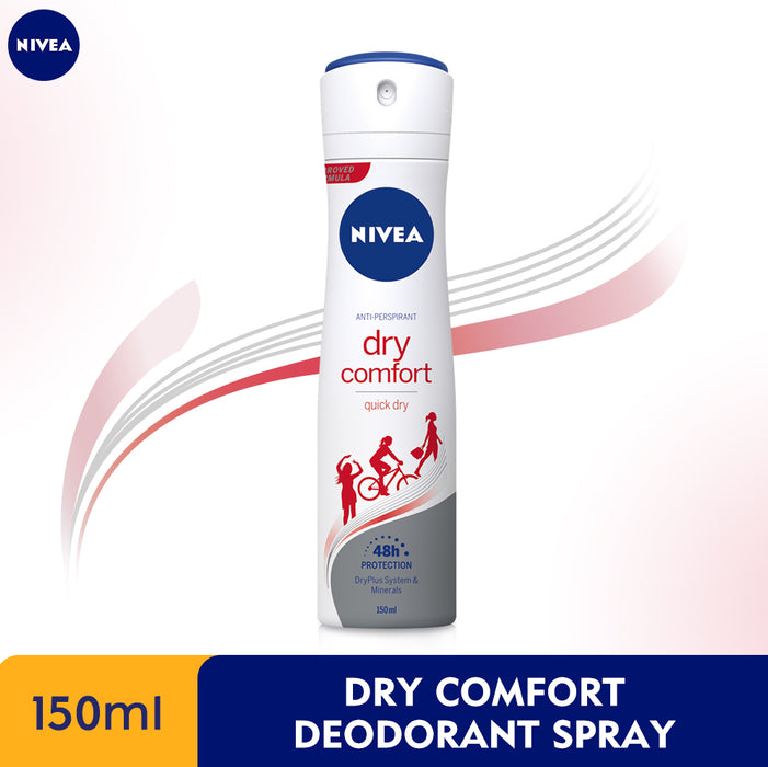 NIVEA Anti-Perspirant Deodorant Spray Dry Comfort 150ml