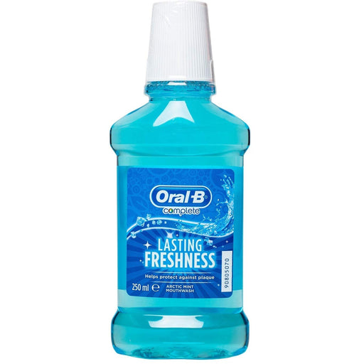 Oral-B Complete Lasing Fresh Arctic Mint 250ml (Made in Britain).