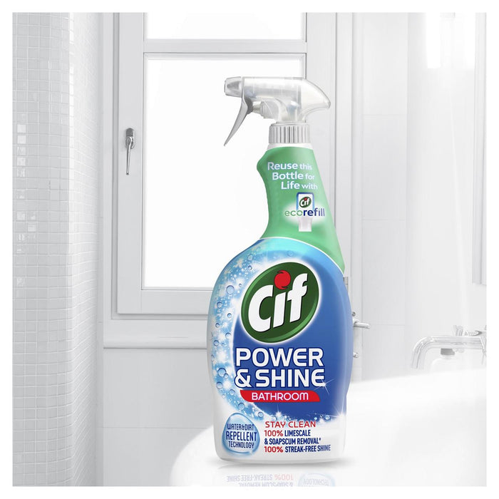Cif Power & Shine Bathroom Spray 700ml