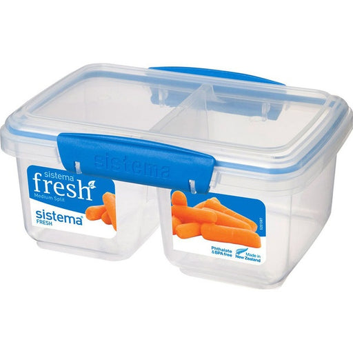 Sistema Medium Split To Go 835ml Blue - Talabac