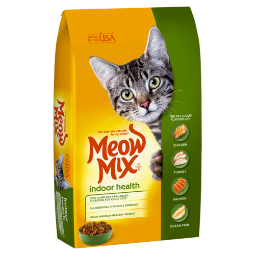 Meow Mix Indoor Health 1.36 kg - Talabac