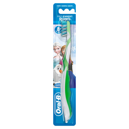 Oral-B Pro- Toothbrush Disney's Frozen, Soft (Color may vary) - Talabac