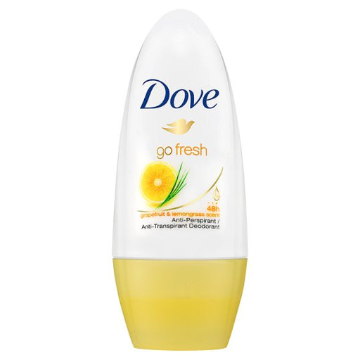 Dove Go Fresh Dry Roll-On Anti-Perspirant Deodorant 50ml (Made in Britain).