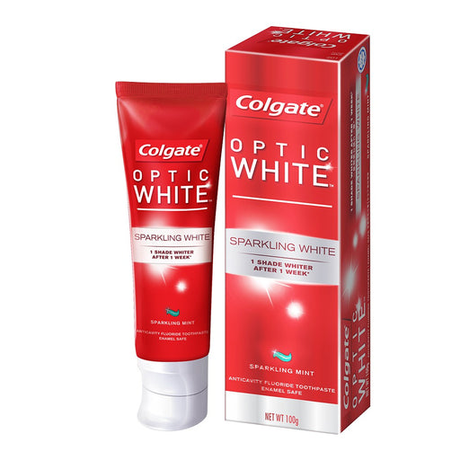 Colgate Optic White Sparkling White Whitening Toothpaste, 75ml