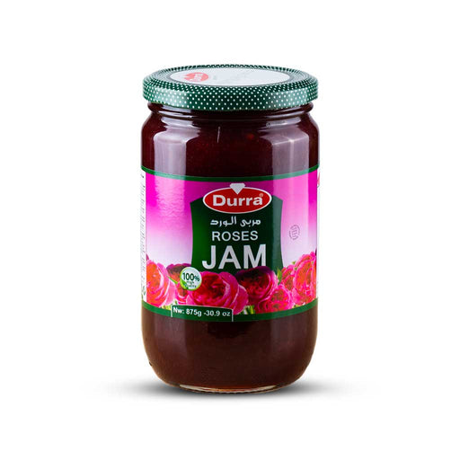 Durra ROSE JAM GLASS JAR 875 G