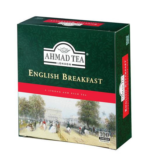 Ahmad English breakfast tea -  100s