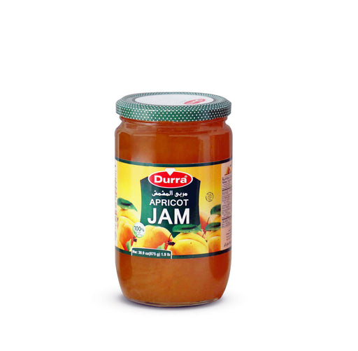Durra APRICOT JAM (SHREDS) GLASS JAR 875G
