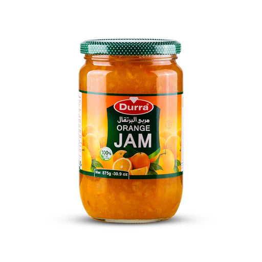 Durra ORANGE JAM GLASS JAR 875G