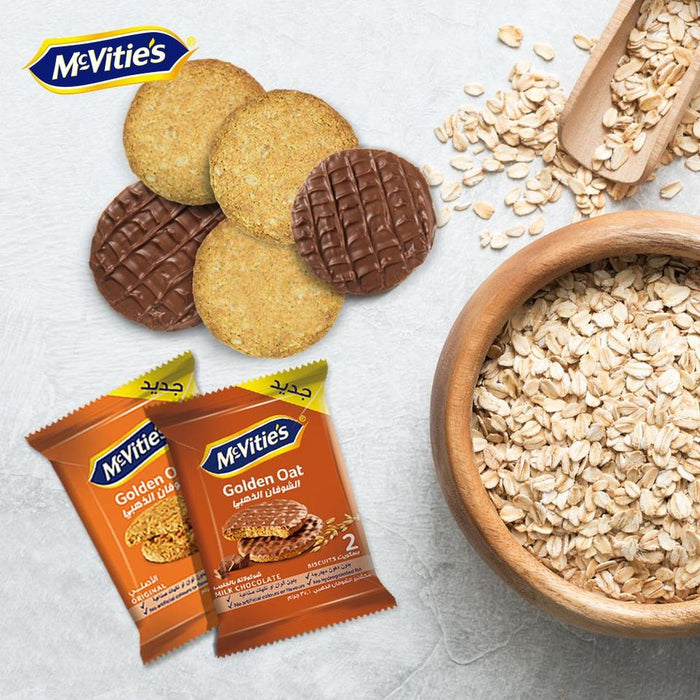 McVities Oat Biscuits With Chocolate X 12