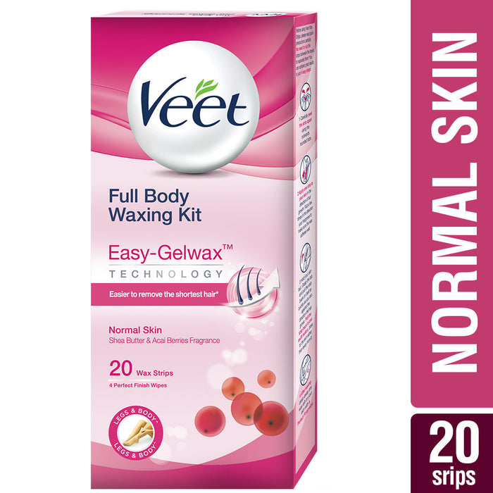 Veet Hair removal Wax Strips for Body Sensitive Skin X 20