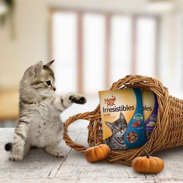 Meow Mix Hairball Control 1.36 kg - Talabac